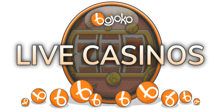 Find the best live casino on Bojoko